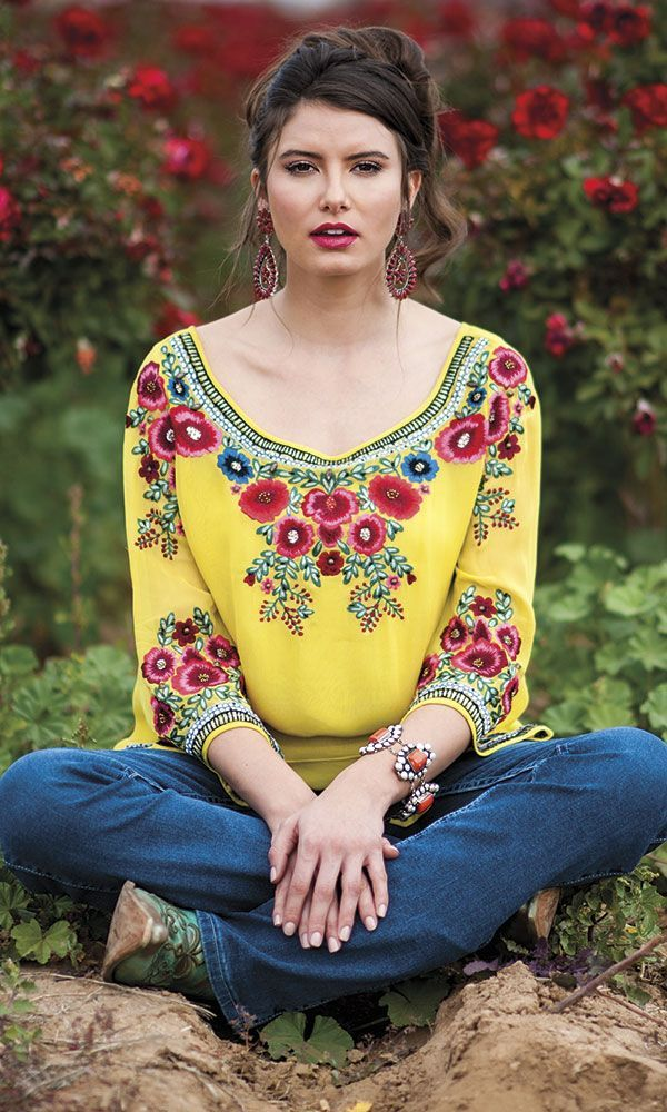 Spring Fashion: Life Is Roses - COWGIRL Magazine