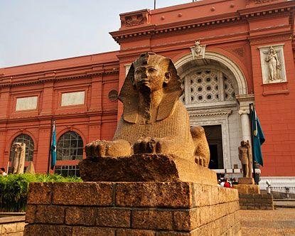 egyptian museum. cairo, egypt.