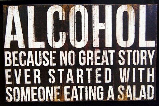 ALCOHOL!!! - 20x30cm MDF Material - 125K
