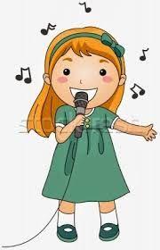Resultado de imagen para niños cantando y bailando animados