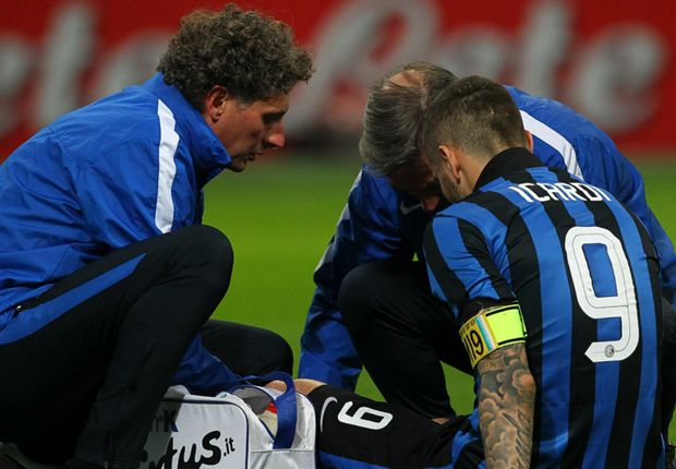 Inter confirm Icardi out with knee ligament damage