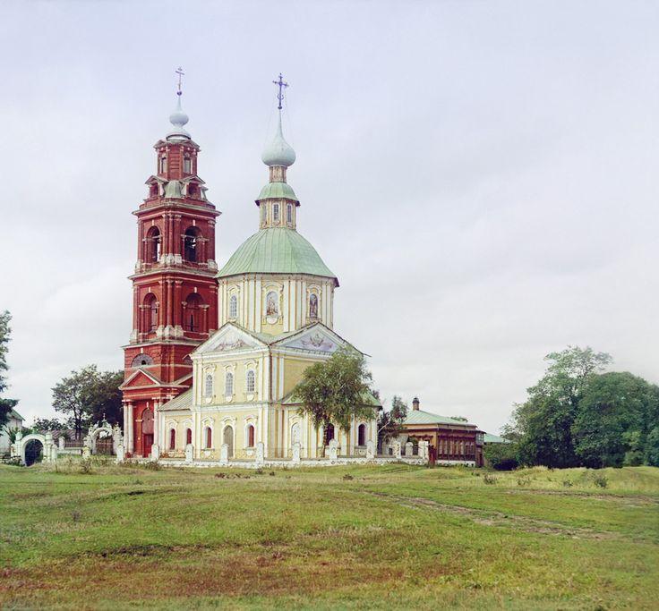 С. М. Прокудин-Горский. Суздаль. Церковь Димитрия Солунского.