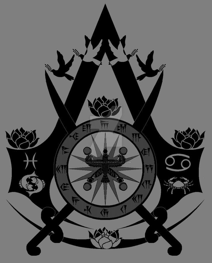 """Mehran Persia (Deviant Art): """"Peace Assassin Symbol"""""""