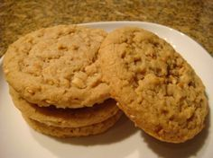 One of the Absolute BEST Peanut Butter cookie Recipes...Big 'n Super-Nutty, like Subway cookies. I used macadamia nuts and homemade peanut butter.