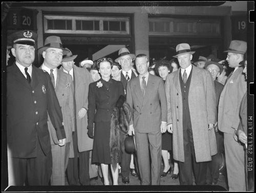 Boston 1943. The Duke and Duchess of Windsor.