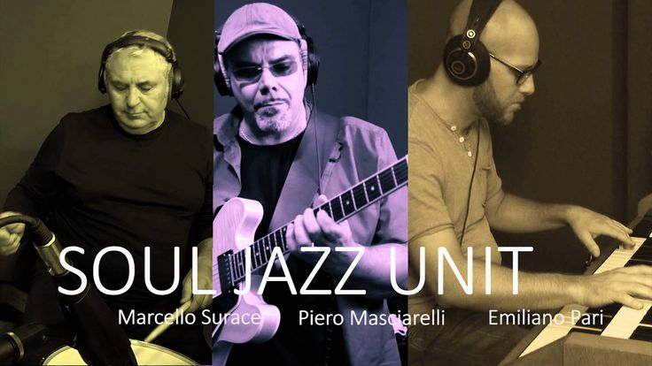 """SoulJazzUnit Live @ Gas Vintage Studios Rome (Trailer)   SoulJazzUnit a Trio based in Rome newly released Cd """"OLD SCHOOL RECIPES"""" Check out their channel and subscribe for some top class SOUL/JAZZ/FUNK sounds. New videos on the way"""