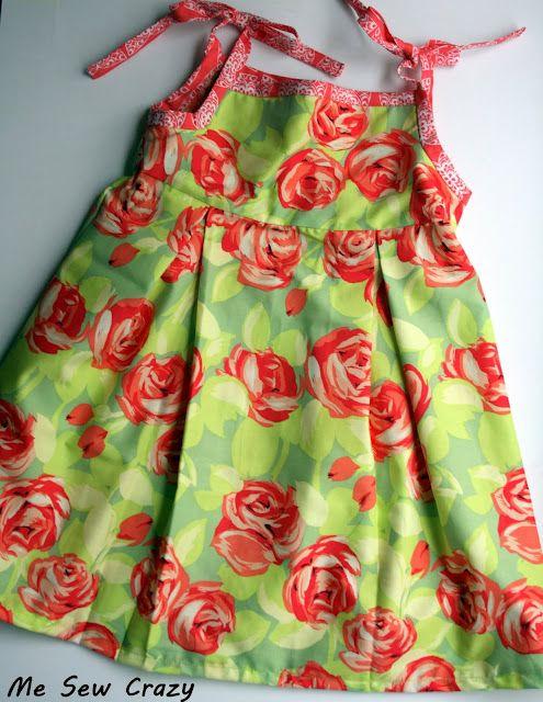 Little girl's dress-- free pattern