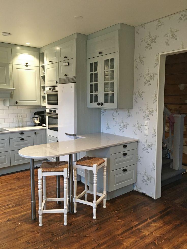 Herregård kjøkken i fargen S2005-G10Y Designet av Synnøve Barstad Hansen Foto: Kundens egne