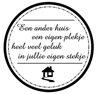 Nice quote. Translation: An other house, an own place. A lot of luck in your own place. It's funnier in Dutch, because it rhymes.