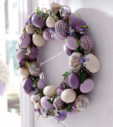 30 Easter Egg Home Decoration Ideas 35