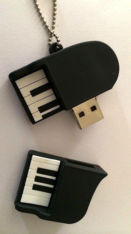 Teclado de Piano USB
