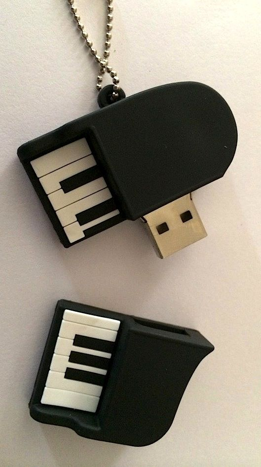 Beautiful Piano Keyboard Flash Drive. #USB #DVDduplicationservices…
