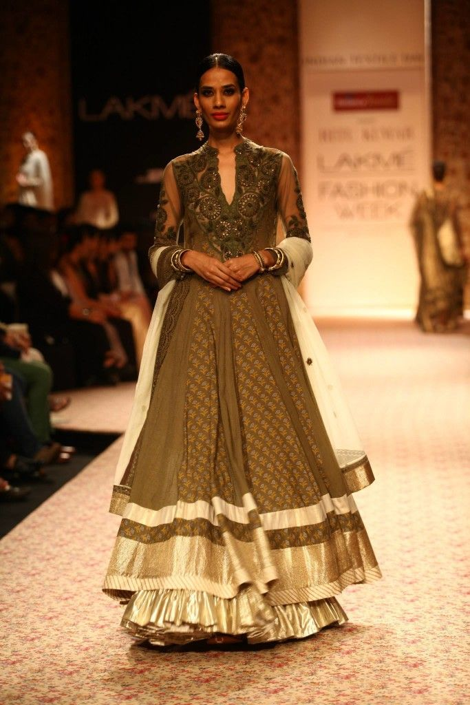 Ritu Kumar | Lakme Fashion Week, WinterFestive2013