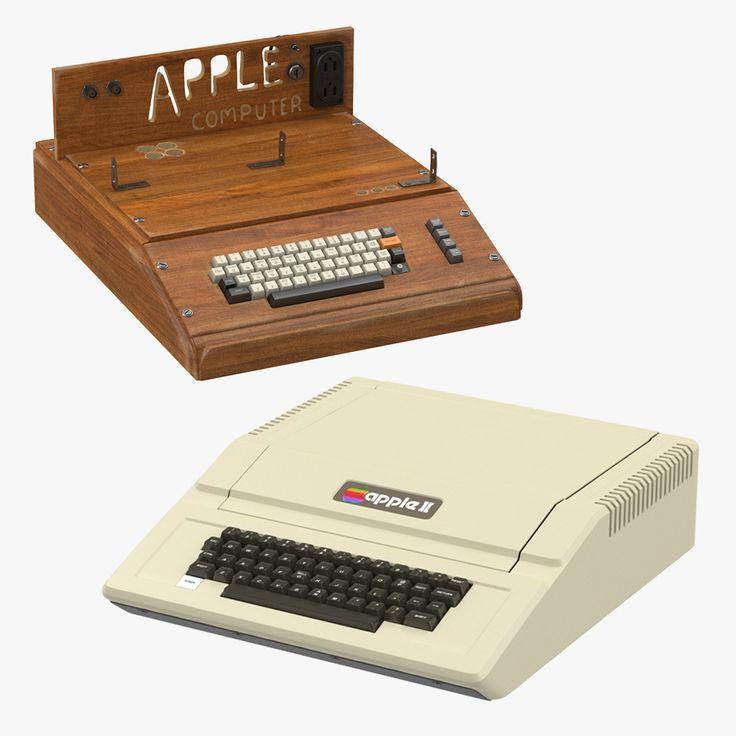 Apple E Iie 3D Model - 3D Model