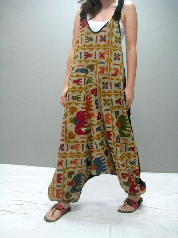 Philly harem jumpsuit 303.1 by thaitee on Etsy, $45.00