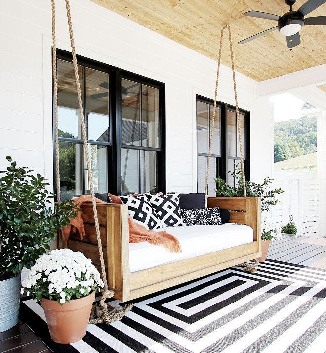 36 Best Wall Living Room Decor Eeveryone Love Neat Fast Home Porch Swing House Exterior