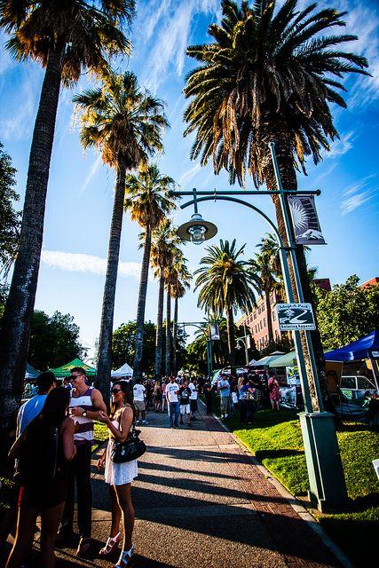 Redding, California - Marketfest on Hilltop Drive