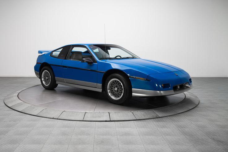 1987 Pontiac Fiero GT-- $16,900