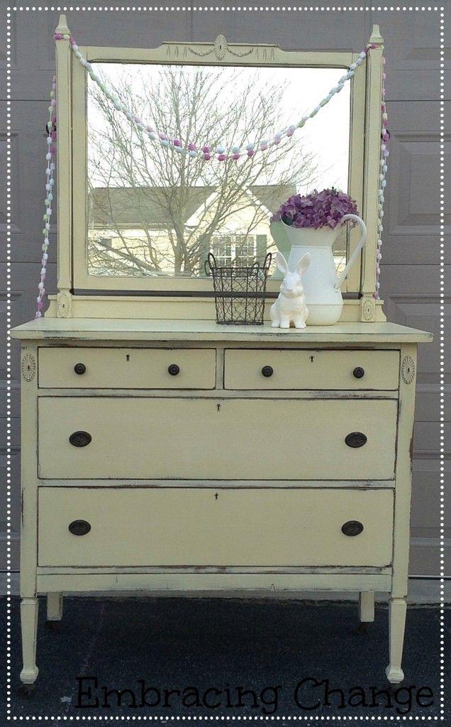 Annie Sloan Chal Paint Cream Dresser