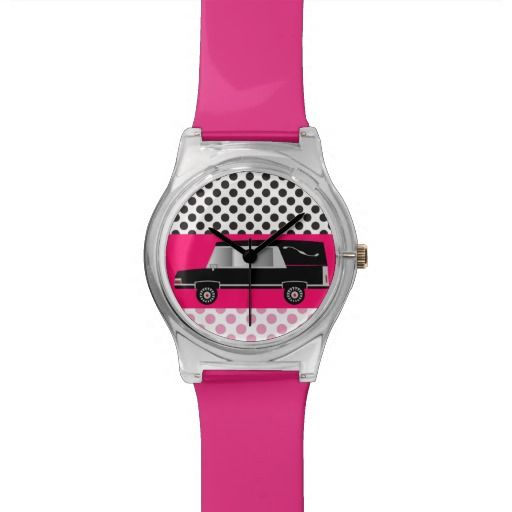 Funeral Director or Mortician Watch Hearse PINK http://www.zazzle.com/funeral_director_or_mortician_watch_hearse_pink-256862891788430646?rf=238282136580680600