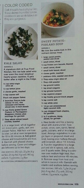 23 best true food kitchen images on pinterest true food kitchens sweet potato poblano soup and kale salad recipes from andrew weils true food kitchen cookbook forumfinder Images