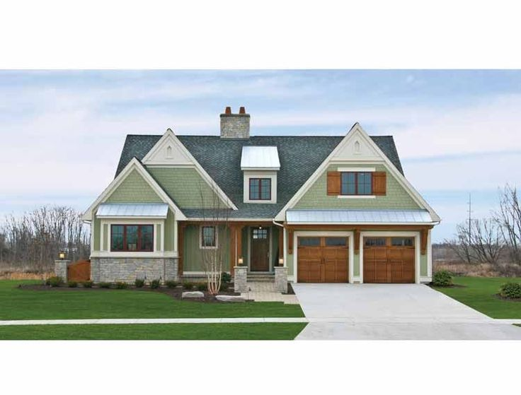 Eplans Craftsman House Plan - Affordable Luxury - 2944 Square Feet and 3 Bedrooms from Eplans - House Plan Code HWEPL75404