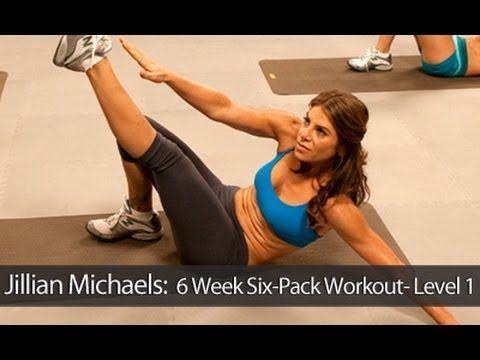 Jillian Michaels: 6 Week Six-Pack Workout- Level 1