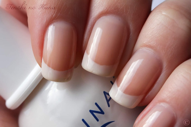 Nothing prettier than a nice french manicured nail.
