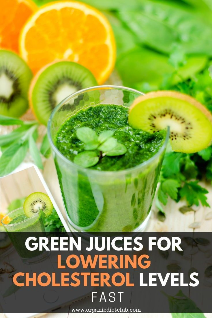 Green Juices for Lowering Cholesterol Levels FAST | Body