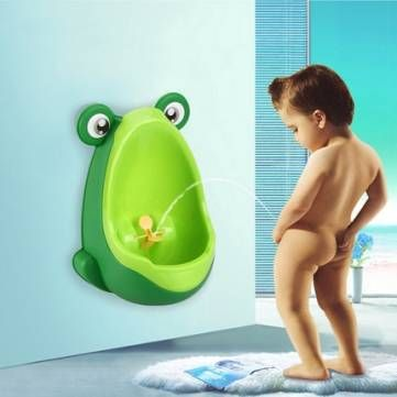 Only US$9.99 , shop Lovely Frog Children Kids Potty Removable Toilet Training Kids Urinal Early Learning Boys Pee Trainer Bathroom at Banggood.com. Buy fashion Potties online.