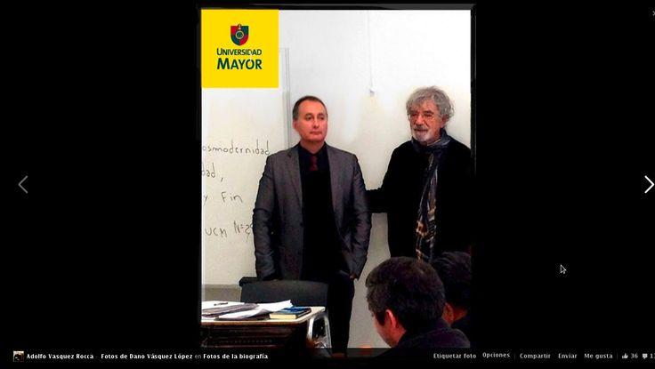 Revista Observaciones Filosóficas Director Dr. Adolfo Vásquez Rocca y Dr. Humberto Maturana