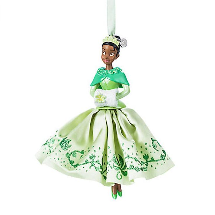 Disney Store 2017 Tiana Sketchbook Ornament The Princess and the Frog New