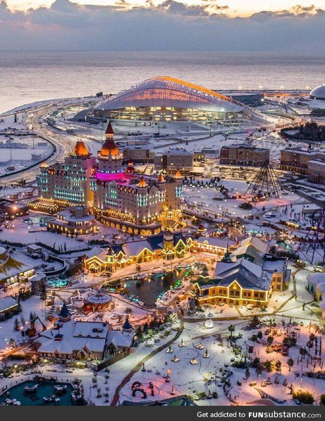 Sochi Russia Is The Ultimate Christmas Town In 2019