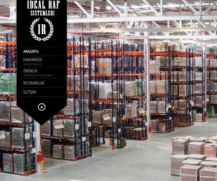 www.idealrafsistemleri.com raf sistemleri ankara - raf sistemleri
