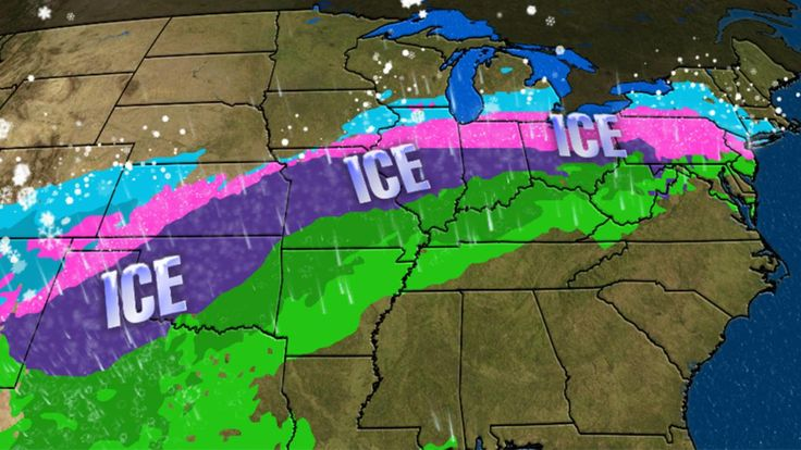 Meteorologist Danielle Banks says an ice storm could hamper the Midwest for several days late this week and into the weekend.