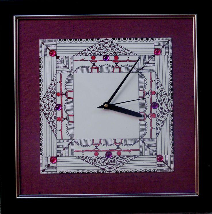 designer clock