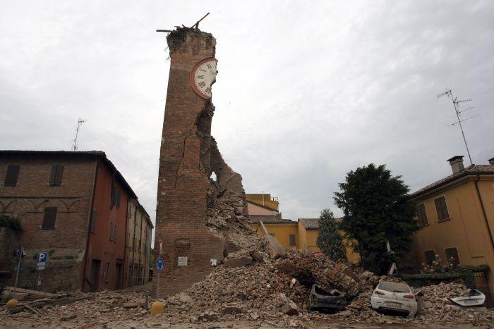 SONIA FURTADO: FORTE TERREMOTO NA ITÁLIA........