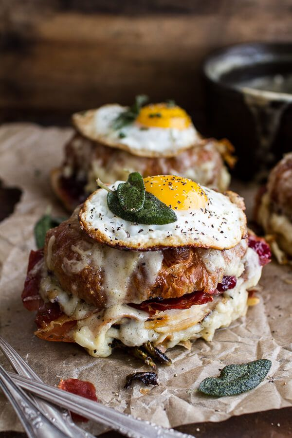 The Thanksgiving Leftovers Croque Madame   halfbakedharvest.com @hbharvest