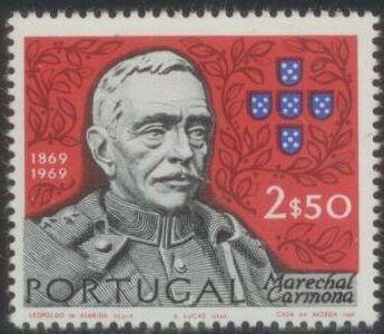 Portugal - 1970 - Marechal Carmona