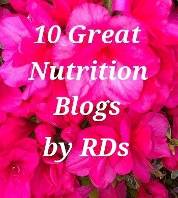 10 Great #Nutrition Blogs by Registered Dietitians #rdchat