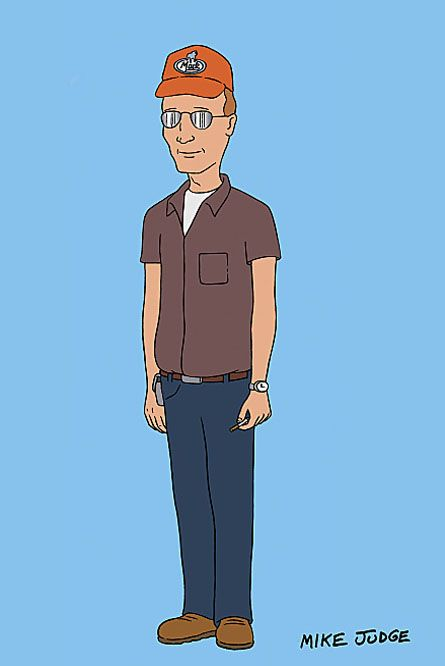Dale Gribble by Mike Judge [ King of the Hill ]