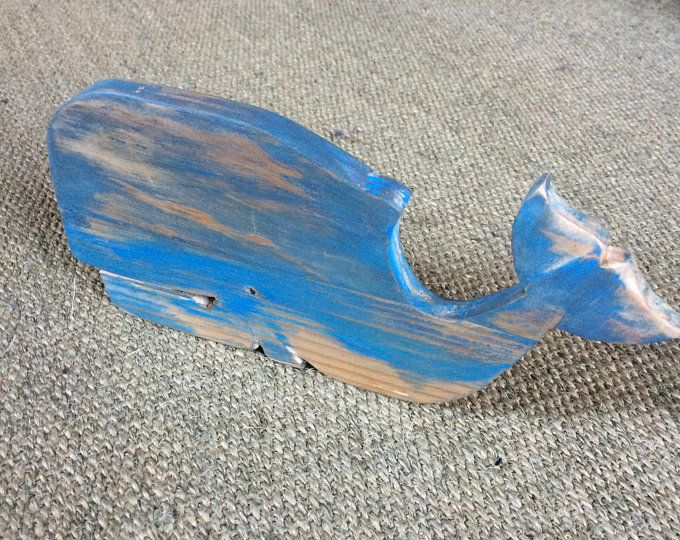 Wooden Whale Wall Decoration Etsy Wooden Whale Whale Decor Painting On Wood
