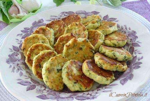 Polpette di zucchine al fornohttp://www.ilcuoreinpentola.it/ricette/polpette-di-zucchine-al-forno/
