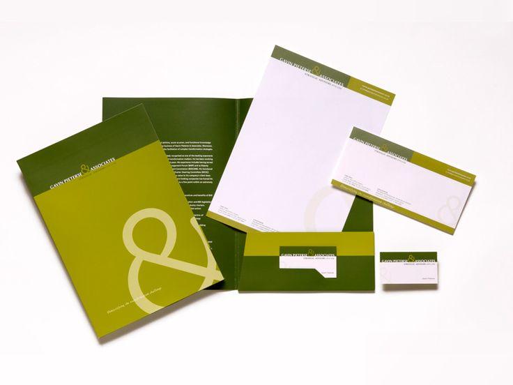 Gavin Pieters & Associates corporate identity and stationery. www.fusiondesign.co.za