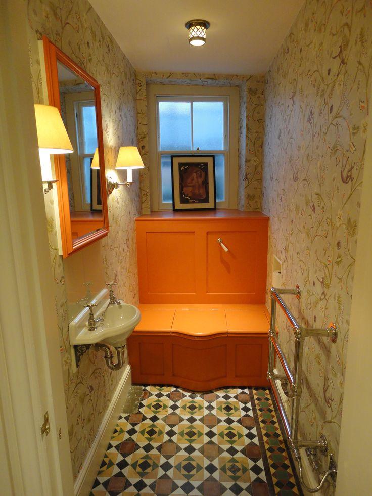 Colourful cloakroom