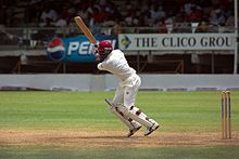West Indian Brian Lara holds the record for highest score in both Tests and first-class cricket.