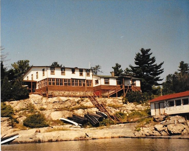 Excerpt by Betty Blair-Smith, recounting her memories of the French River and Bear's Den Lodge 1967-1973