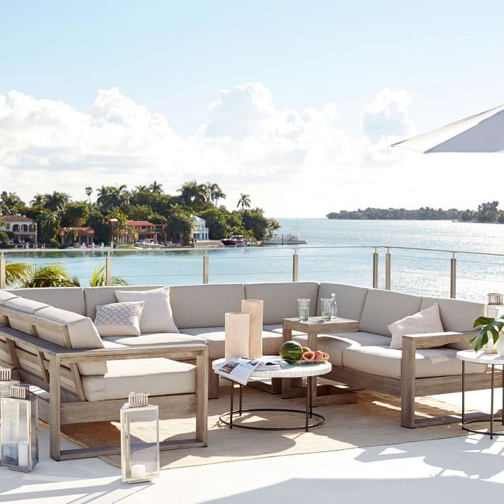 Best 25 Outdoor Sectional Ideas On Pinterest Sectional Patio Furniture Diy Outdoor Furniture