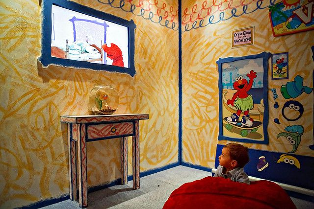 Elmo's World - background. Yes! Awesomest room! I can do it!
