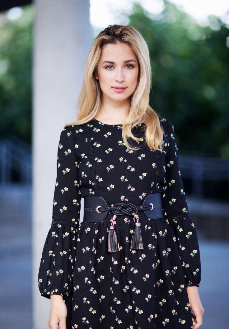 Ingrid Holm Blog - Floral dress - ANABELLE BOHEMIA FLORAL PRINTED SMOCK DRESS Boohoo